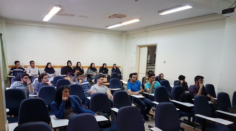 دیدار با دانشجویان دانشگاه امیرکبییر